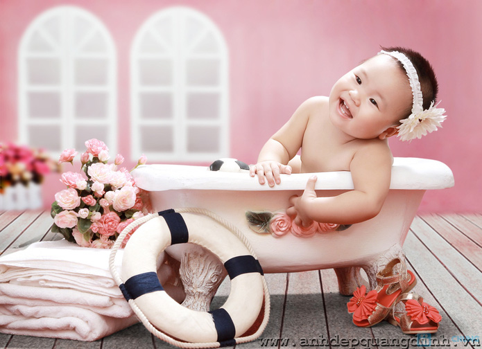 Chụp ảnh cho bé tại studio Ảnh đẹp Quang Định - 7