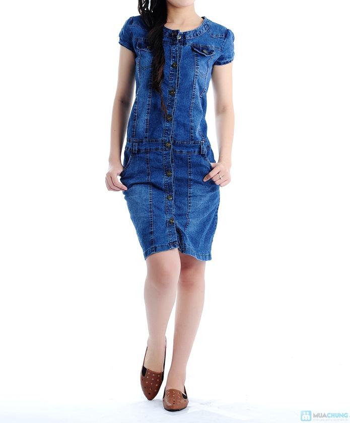 Đầm Jean trẻ trung cho bạn gái - 2
