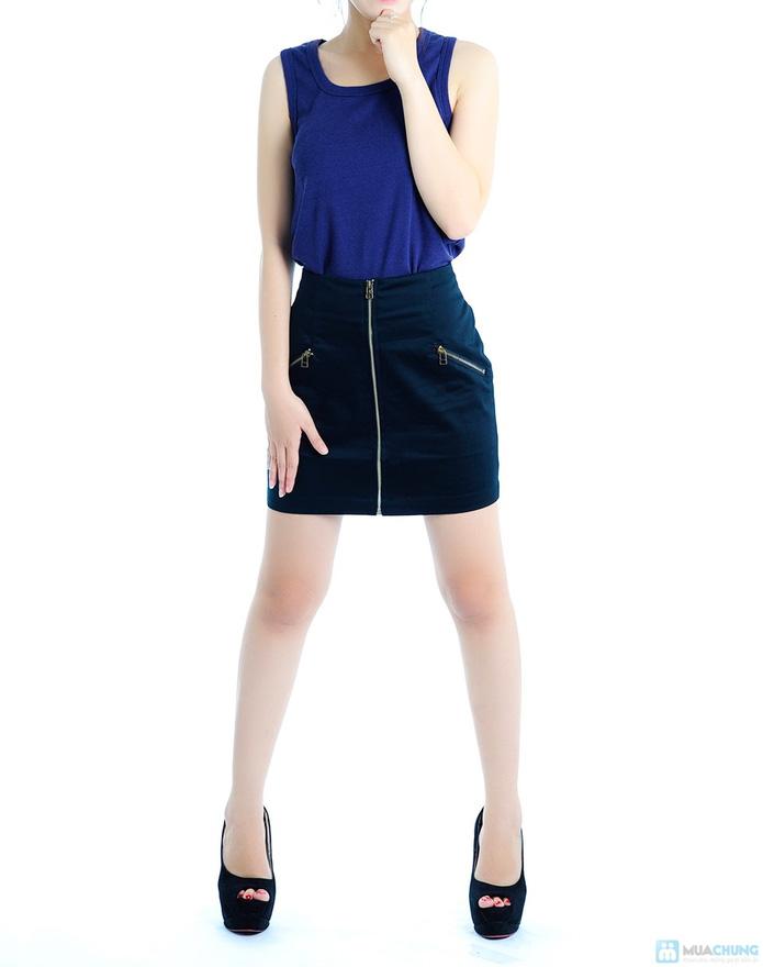 Chân váy đen - 1