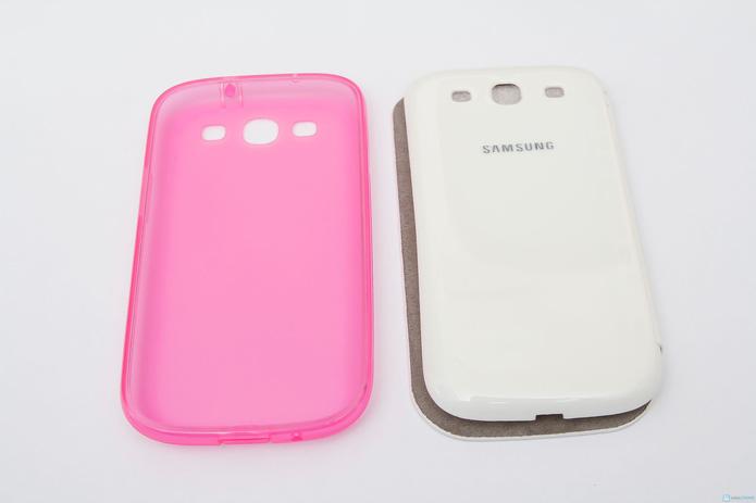 Ốp và bao da cho điện thoại Samsung S3 - 7