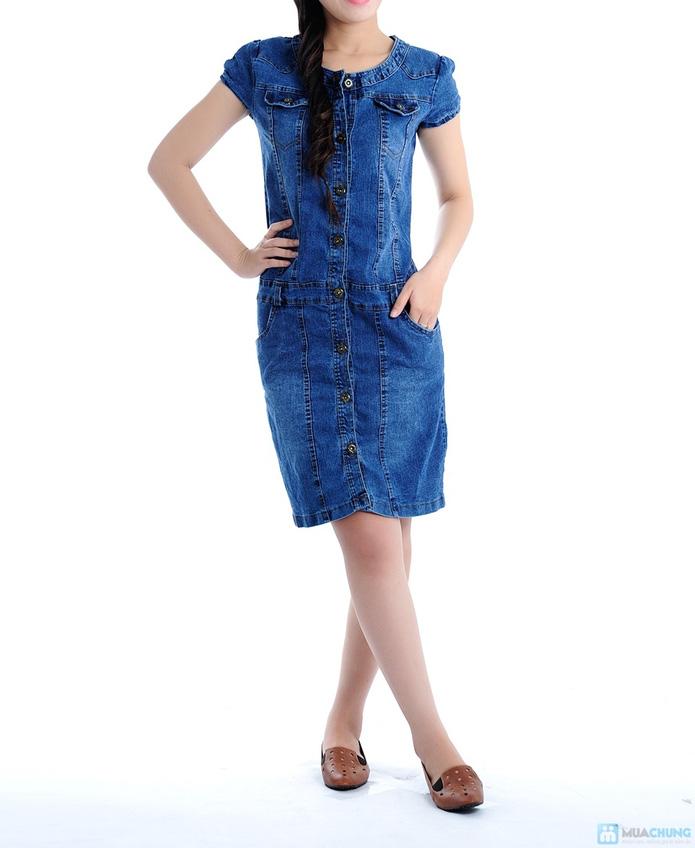 Đầm Jean trẻ trung cho bạn gái - 1