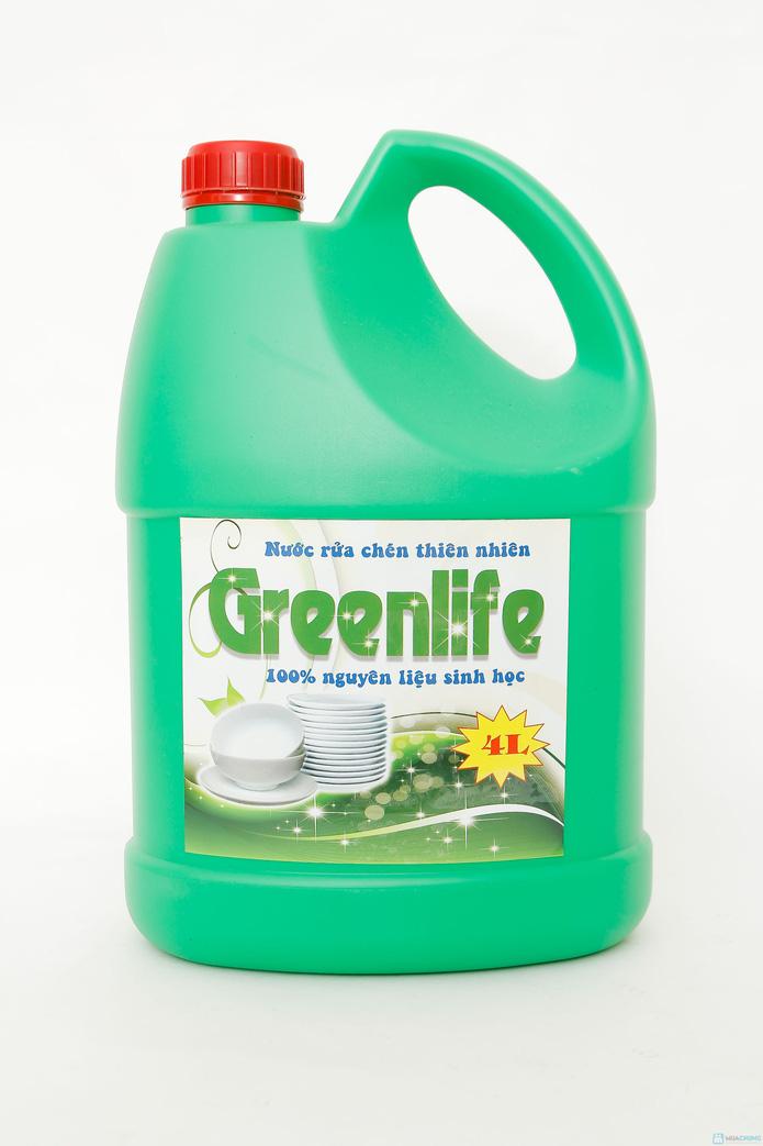 Nước rửa chén sinh học Green Life - 2