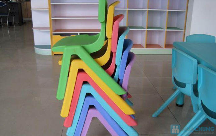 ghế nhựa đúc tiện dụng  cho bé - 9