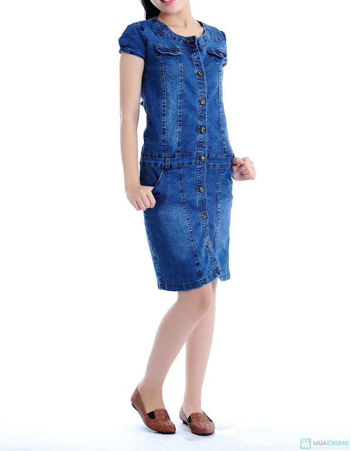 Đầm Jean trẻ trung cho bạn gái - 3