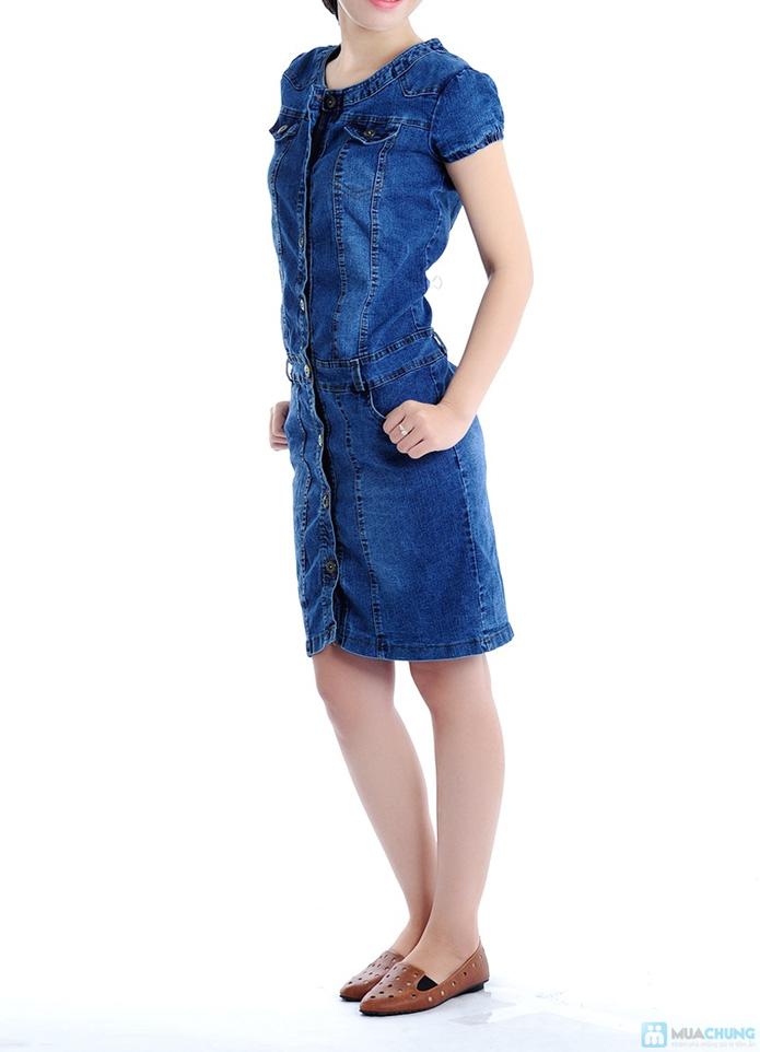 Đầm Jean trẻ trung cho bạn gái - 4