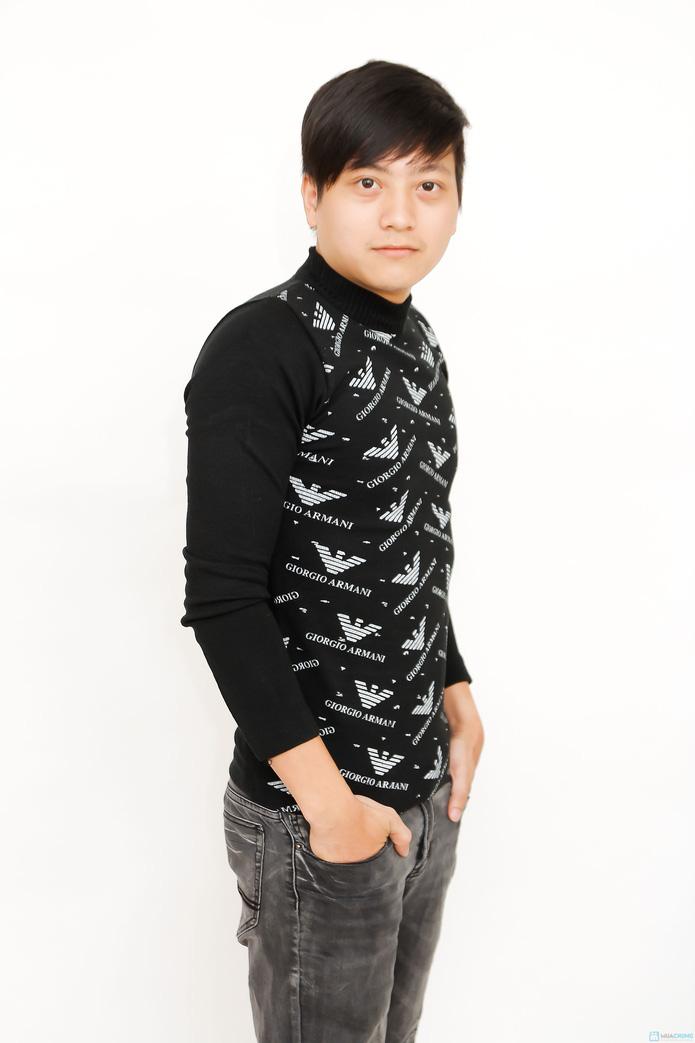 Áo len phong cách cho Nam - 4