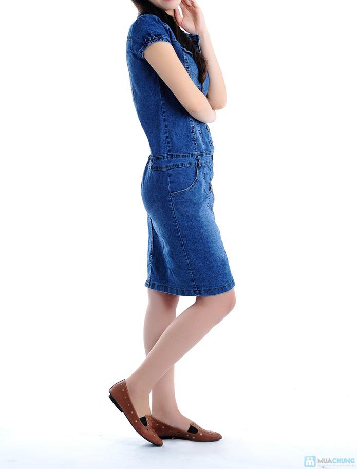 Đầm Jean trẻ trung cho bạn gái - 5