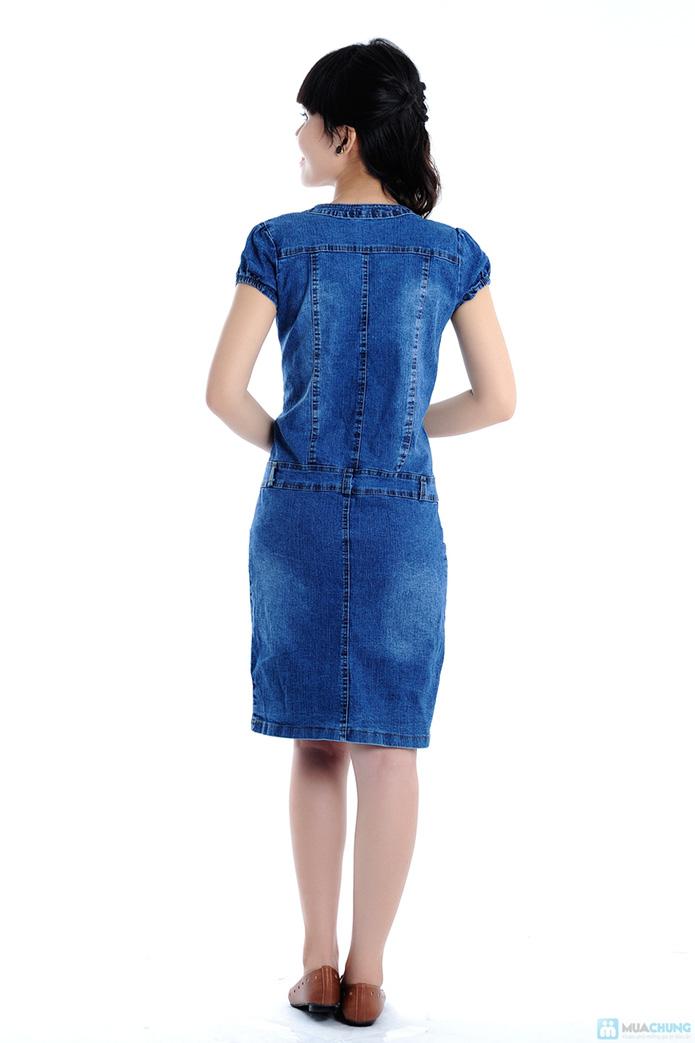 Đầm Jean trẻ trung cho bạn gái - 6