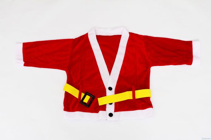 Bộ quần áo Ông già Noel đáng yêu cho bé - 3