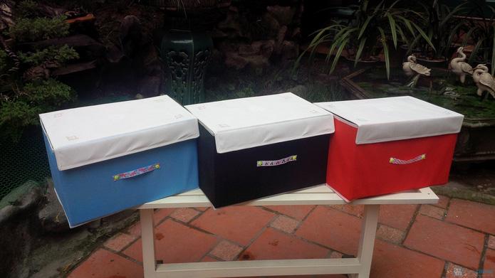 Combo 2 hộp đựng đồ handmade  - 1