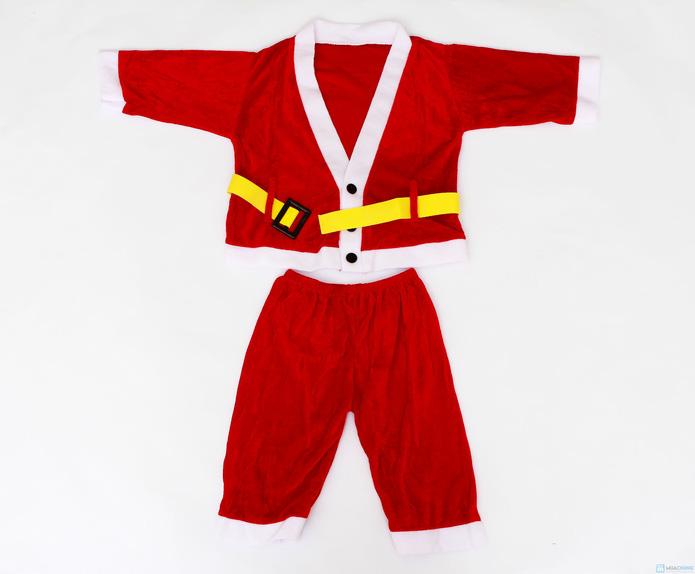 Bộ quần áo Ông già Noel đáng yêu cho bé - 1