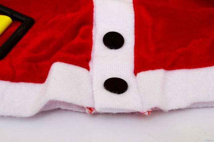 Bộ quần áo Ông già Noel đáng yêu cho bé - 4