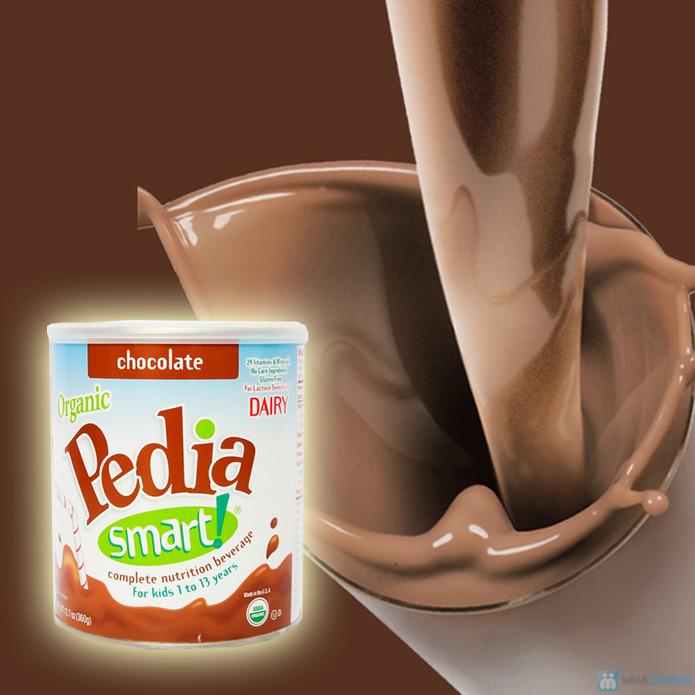 Sữa bột cao dinh dưỡng siêu sạch Organic pedia smart 360g vị chocolate - 2