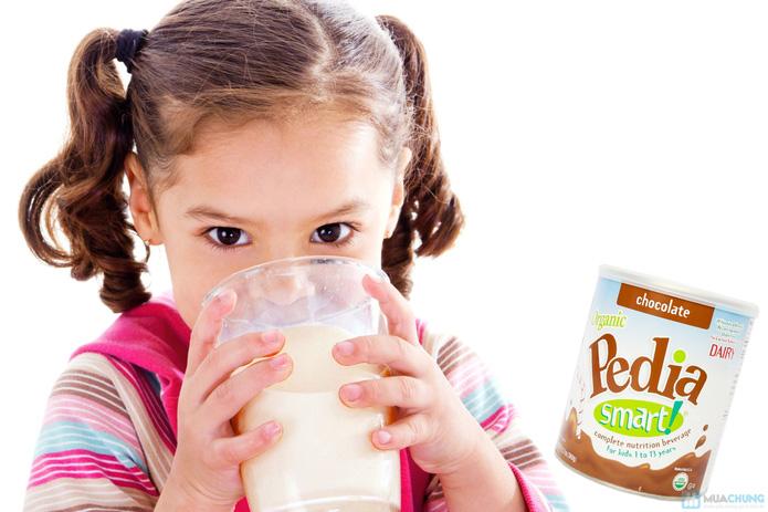 Sữa bột cao dinh dưỡng siêu sạch Organic pedia smart 360g vị chocolate - 3
