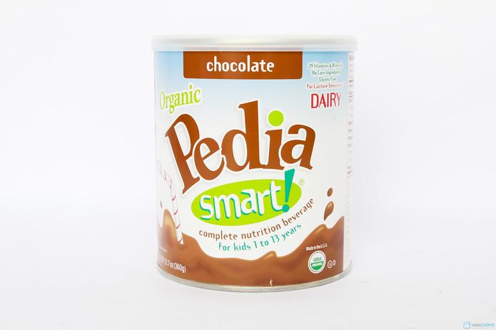 Sữa bột cao dinh dưỡng siêu sạch Organic pedia smart 360g vị chocolate - 4