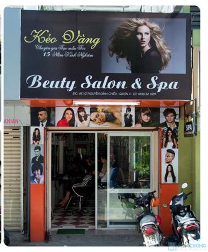 Cùng Salon Kéo Vàng tút lại nhan sắc với mái tóc khỏe, đẹp, thời trang, mới mẻ để đón tết - Salon Kéo Vàng - 1
