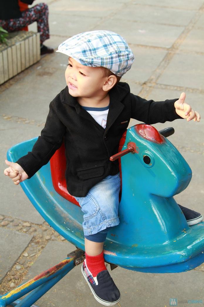 Áo vest nỉ cao cấp cho bé trai - 2