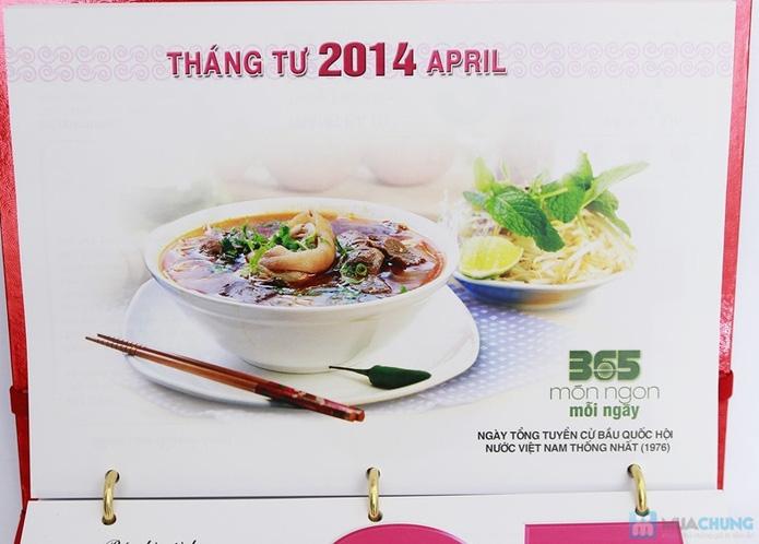 Sách lịch 365 món ăn AH04. Chỉ với 287.000đ - 5