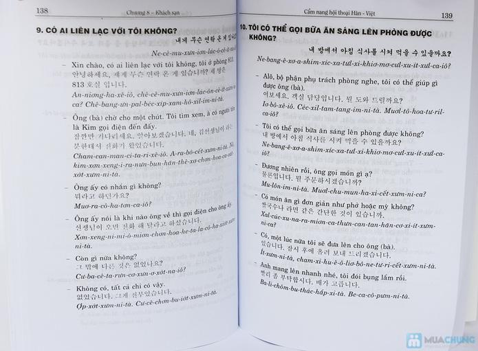 Cẩm nang giao tiếp tiếng Hàn + Tự học giao tiếp tiếng Hàn + Ngữ pháp cơ bản tiếng Hàn. Chỉ với 112.000đ - 9