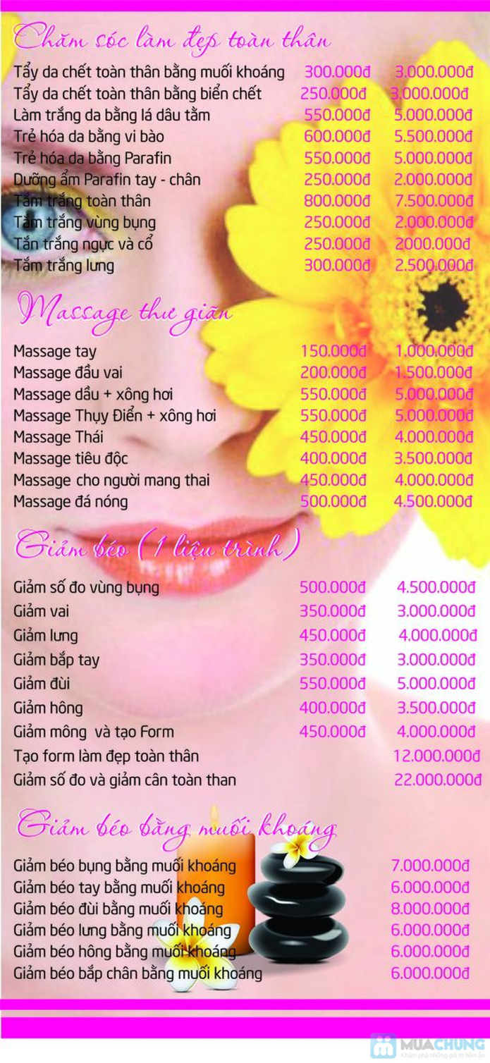 Chăm sóc da mặt hoặc Massage body tại Purest Spa - 1
