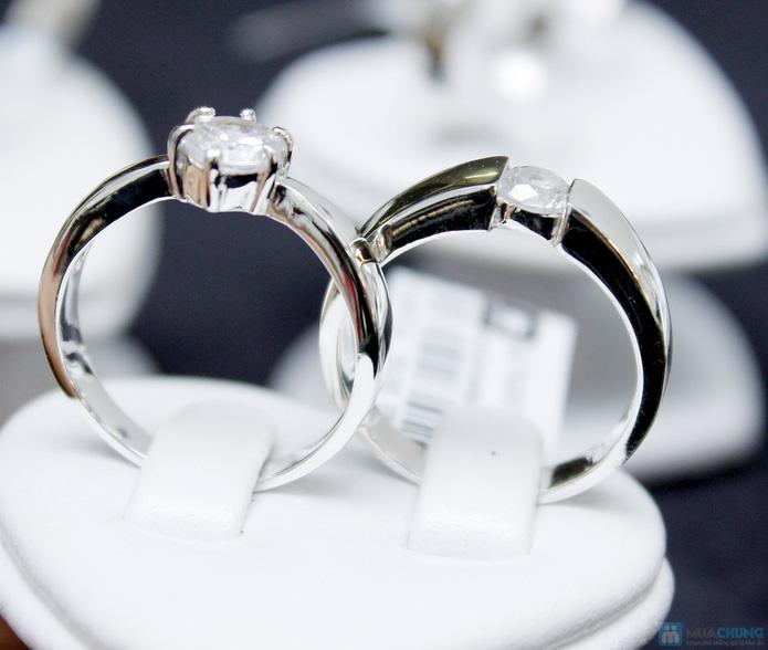 Nhẫn đôi bạc cao cấp Thành Phát - 10