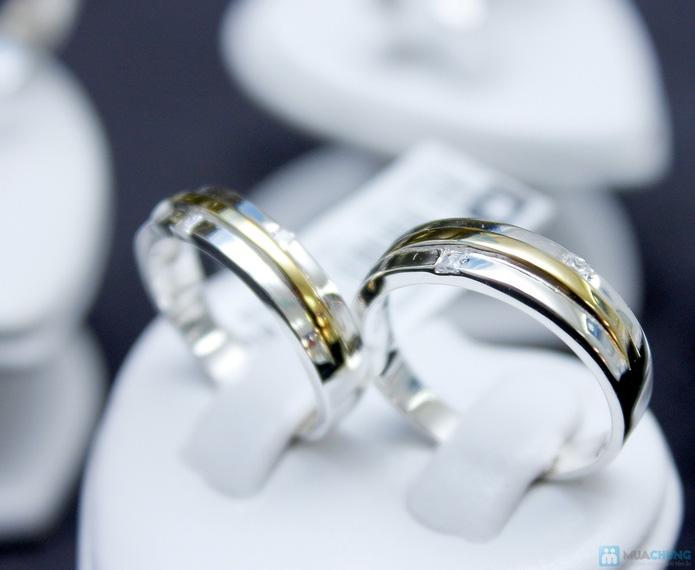 Nhẫn đôi bạc cao cấp Thành Phát - 11