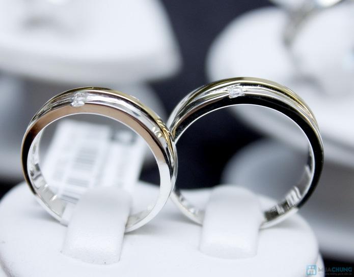 Nhẫn đôi bạc cao cấp Thành Phát - 12