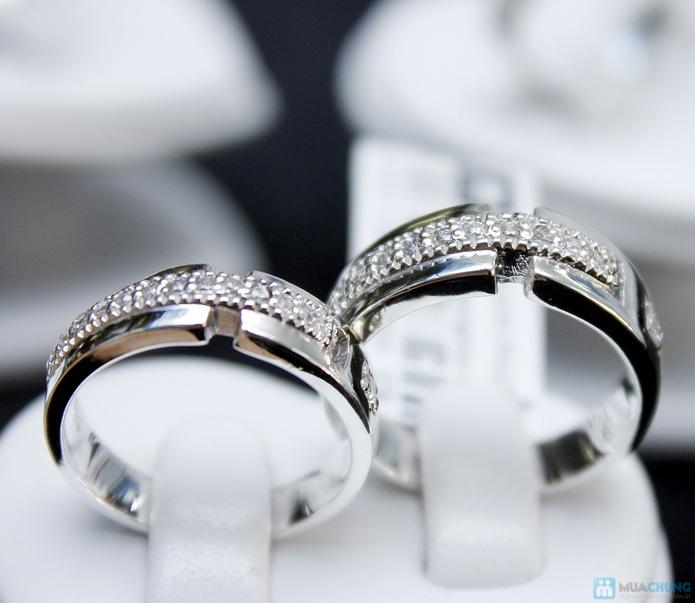 Nhẫn đôi bạc cao cấp Thành Phát - 17