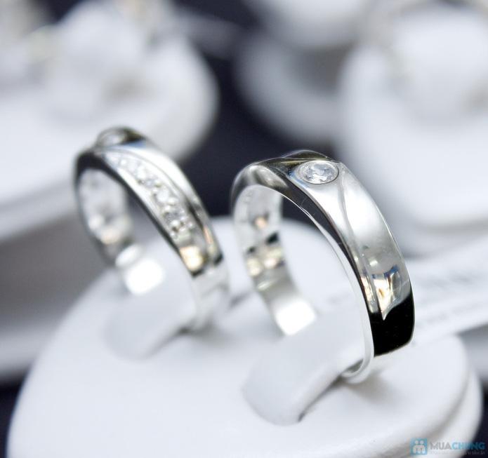 Nhẫn đôi bạc cao cấp Thành Phát - 4