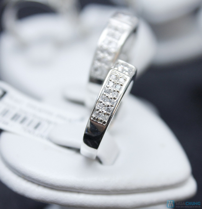 Nhẫn đôi bạc cao cấp Thành Phát - 6