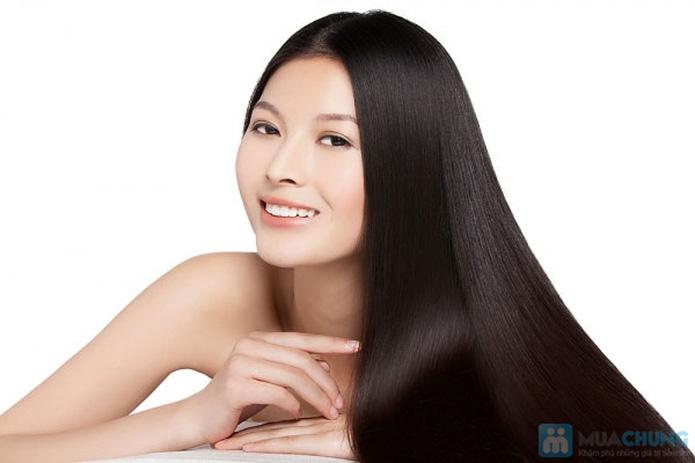 Uốn - Duỗi - Nhuộm (Ủ Collagen phục hồi tóc) tại Ngọc Anh Beauty Center - 1