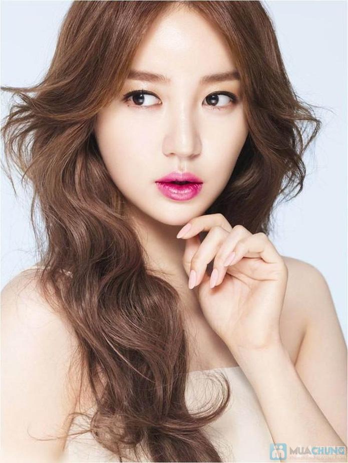 Uốn - Duỗi - Nhuộm (Ủ Collagen phục hồi tóc) tại Ngọc Anh Beauty Center - 2