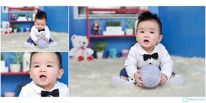 Chụp ảnh và in lịch cho bé tại Phạm studio - 17