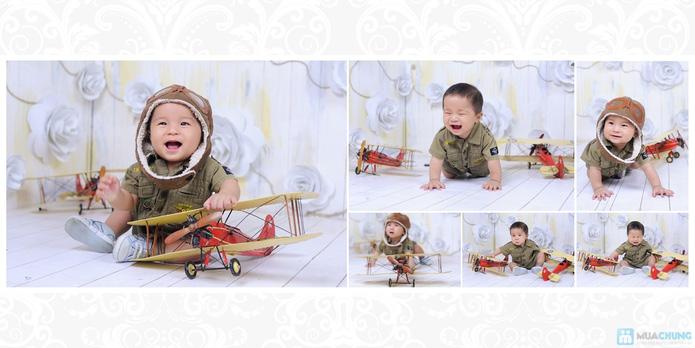 Chụp ảnh và in lịch cho bé tại Phạm studio - 15