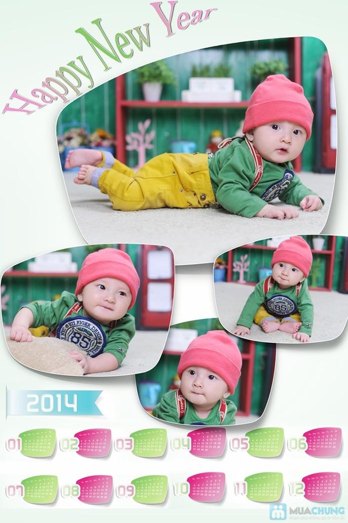 Chụp ảnh và in lịch cho bé tại Phạm studio - 2