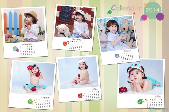 Chụp ảnh và in lịch cho bé tại Phạm studio - 1