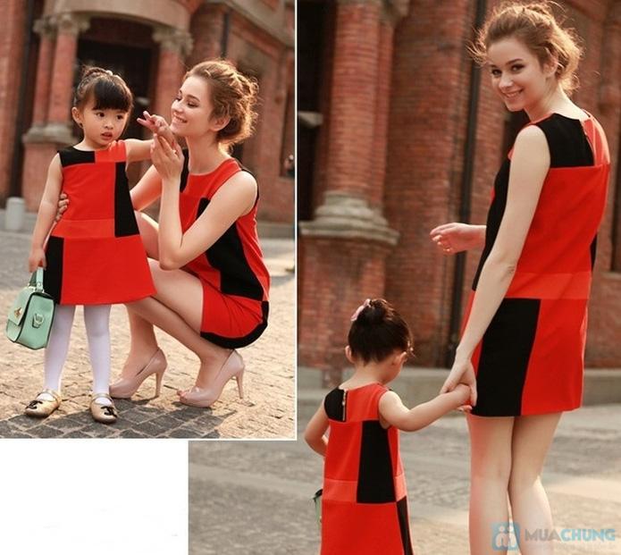 Combo đầm đôi cho mẹ và bé - 1