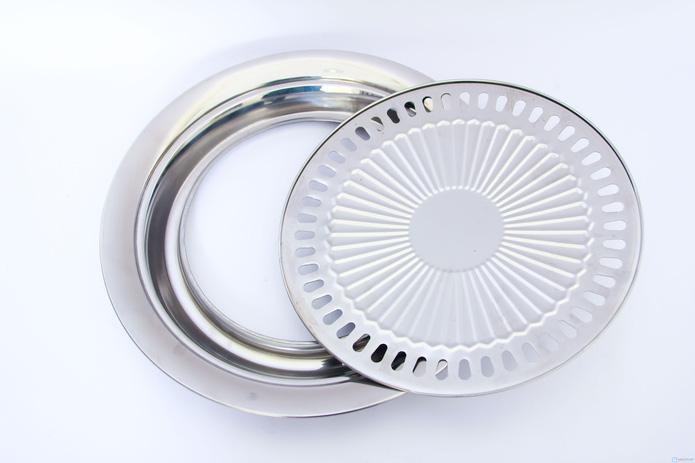 Vỉ nướng inox sử dụng cho cả bếp từ - 5