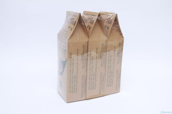 Combo 03 túi Trà gạo lứt - cỏ ngọt Royal Tea - 1