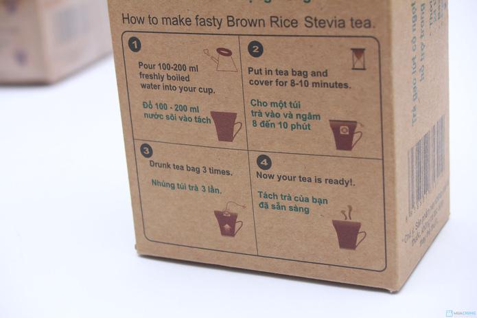 Combo 03 túi Trà gạo lứt - cỏ ngọt Royal Tea - 3