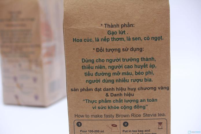 Combo 03 túi Trà gạo lứt - cỏ ngọt Royal Tea - 4