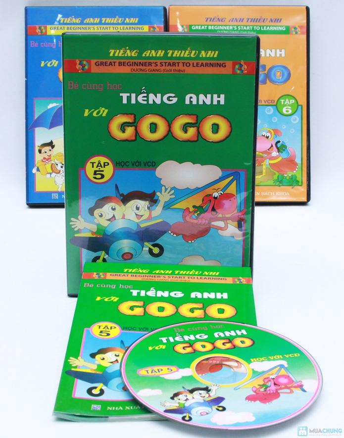 Bộ 3 VCD kèm sách Bé cùng học tiếng Anh với GoGo (Tập 4 đến 6) - 6