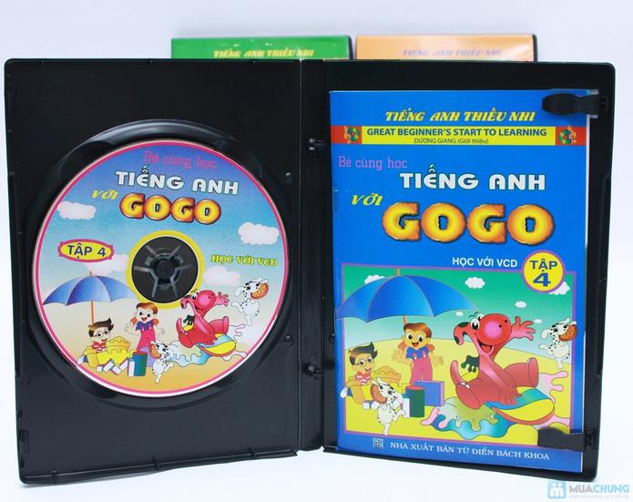 Bộ 3 VCD kèm sách Bé cùng học tiếng Anh với GoGo (Tập 4 đến 6) - 3