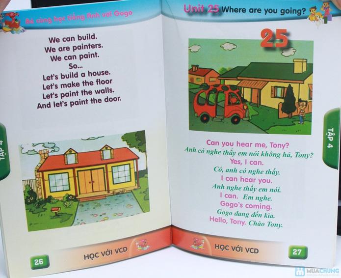 Bộ 3 VCD kèm sách Bé cùng học tiếng Anh với GoGo (Tập 4 đến 6) - 5