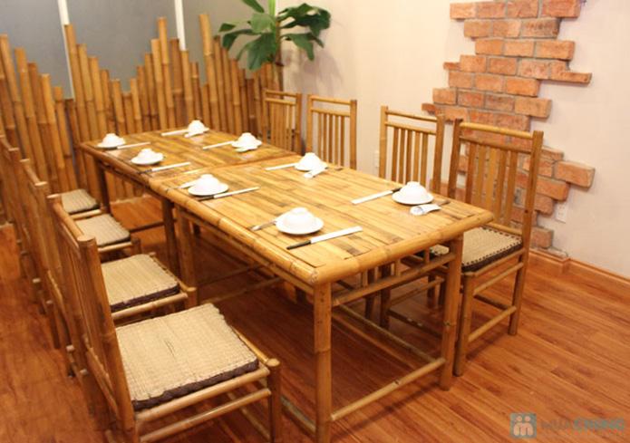 Set ăn: 01 món lẩu + 01 món phụ tự chọn dành cho 2 -3 người tại nhà hàng Bún Và Lẩu V  - 6