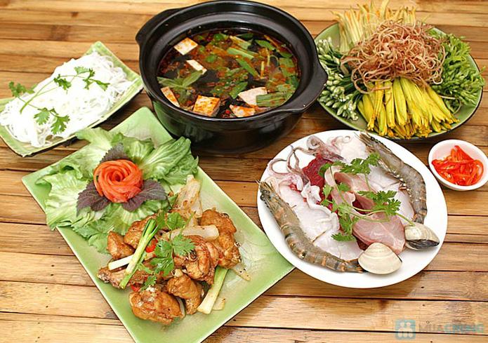 Set ăn: 01 món lẩu + 01 món phụ tự chọn dành cho 2 -3 người tại nhà hàng Bún Và Lẩu V  - 7