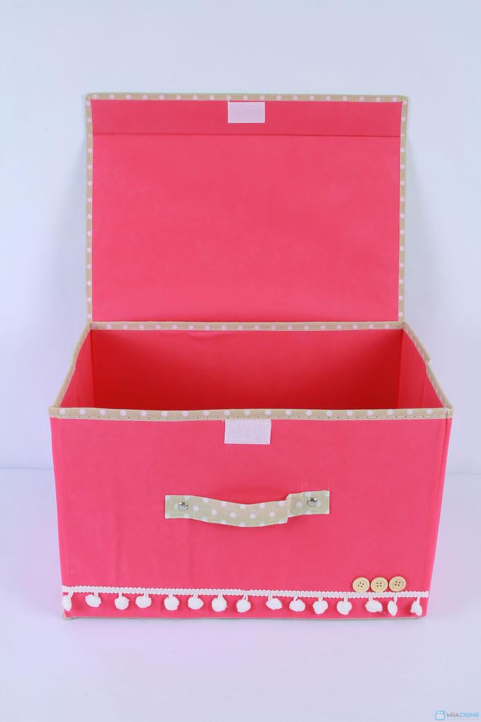 Combo 02 hộp để đồ đa năng siêu đáng yêu - 2
