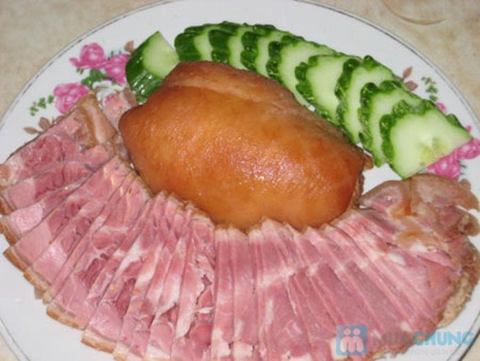 Thịt chân giò lợn muối hấp dẫn - 6