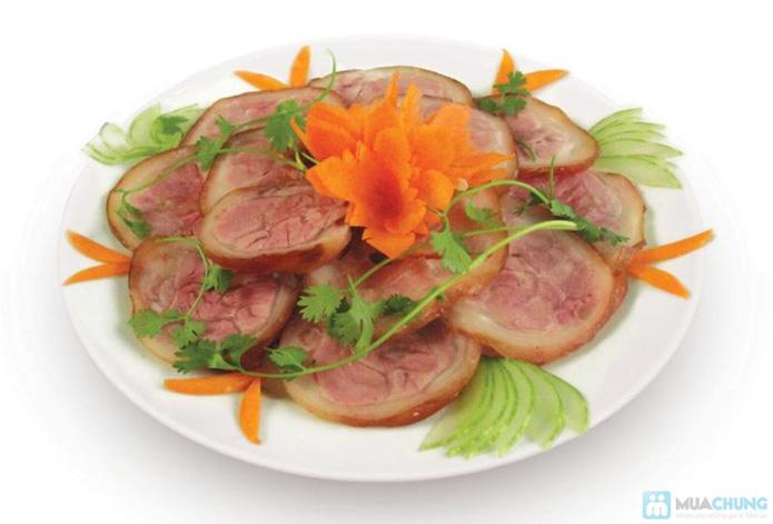 Thịt chân giò lợn muối hấp dẫn - 7
