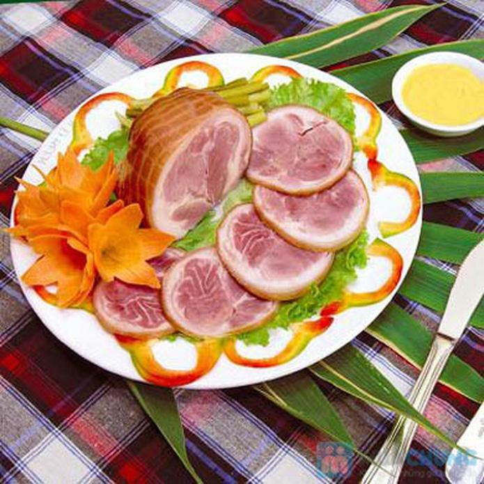 Thịt chân giò lợn muối hấp dẫn - 5
